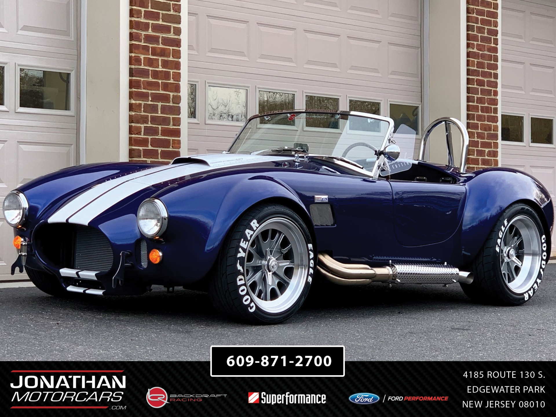New 1965 Backdraft Racing Cobra Big & Tall | Edgewater Park, NJ