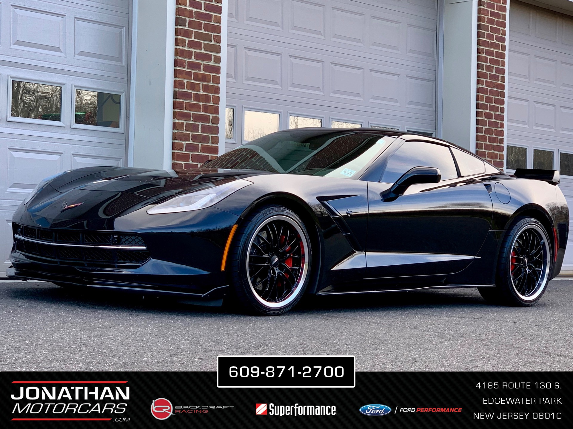 corvette stingray z51 2lt chevrolet rwd coupe nj cargurus near