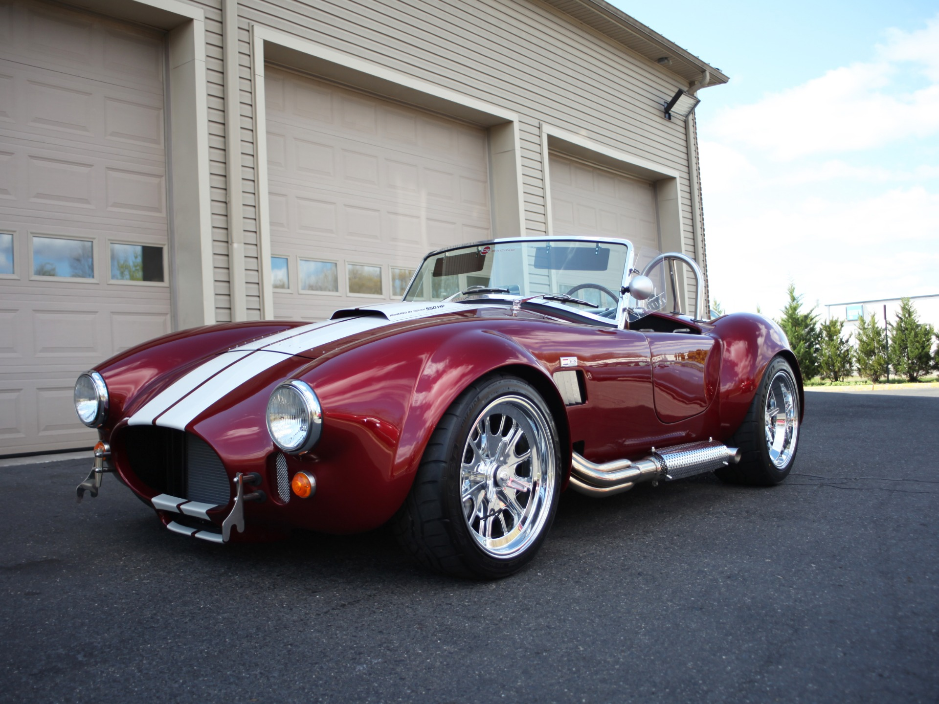 1965 Backdraft Racing Custom Cobra BDR RT3 Roadster - Roush