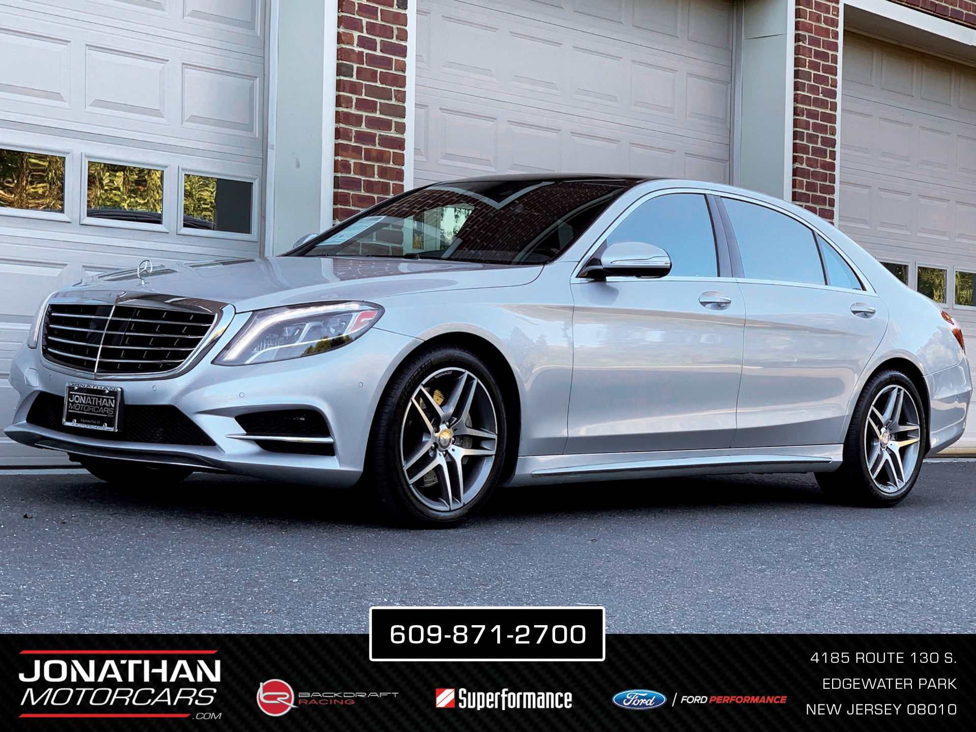 Used 2015 Mercedes-Benz S-Class S 550 4MATIC   Edgewater Park, NJ