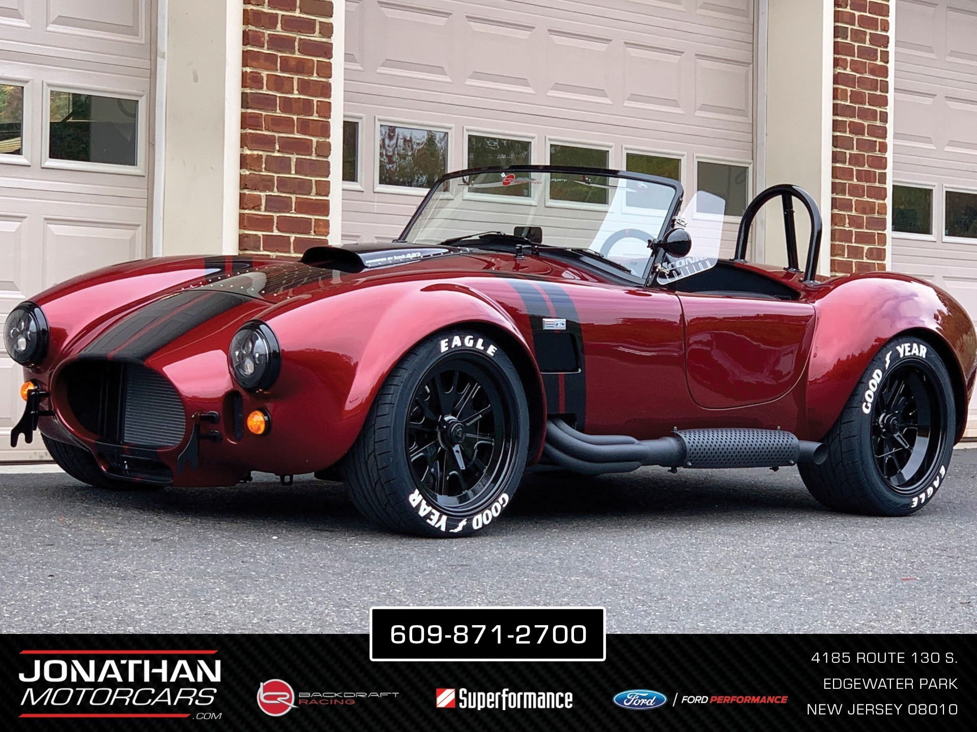 New 1965 Backdraft Racing Cobra RT4B | Edgewater Park, NJ