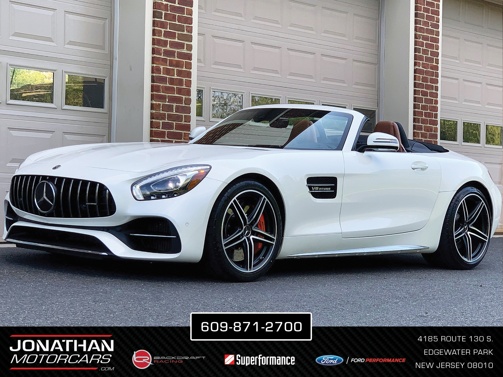 Used 2018 Mercedes-Benz AMG GT C Roadster | Edgewater Park, NJ