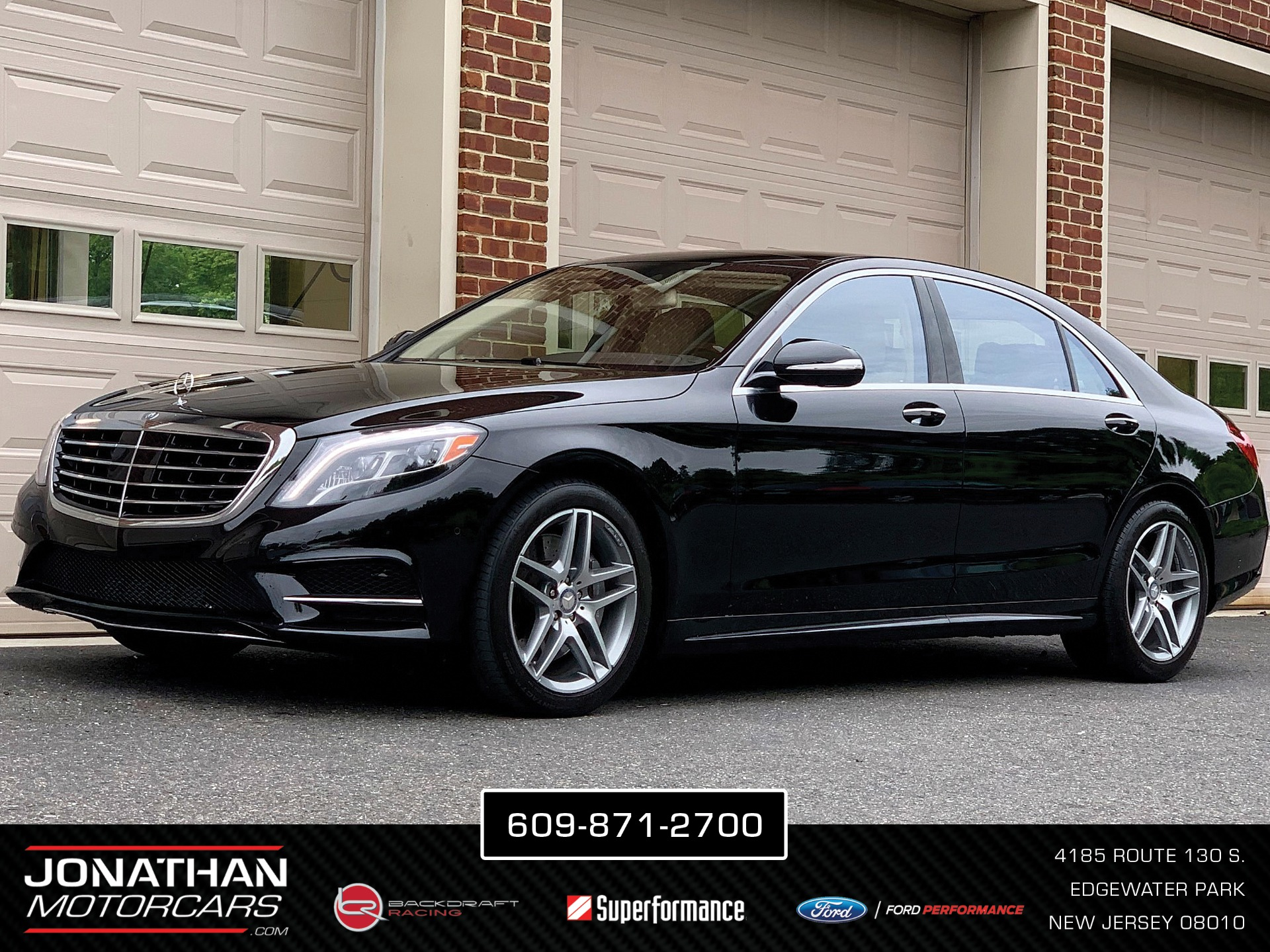 Used 2015 Mercedes-Benz S-Class S 550 4MATIC | Edgewater Park, NJ