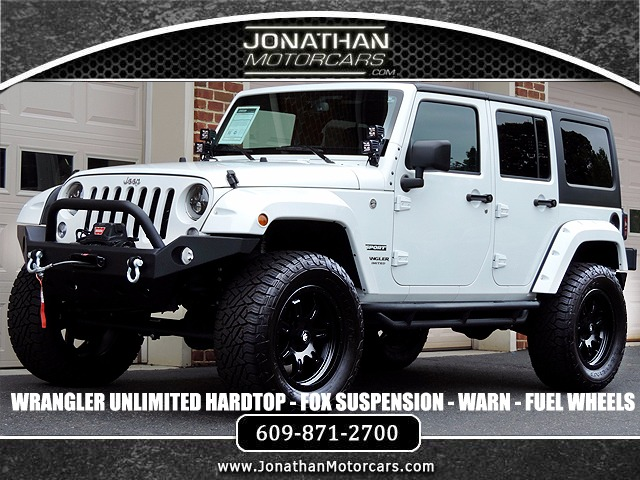 Used Jeeps For Sale In Nj >> 2016 Jeep Wrangler Unlimited 4WD - Fox Suspension - Many ...