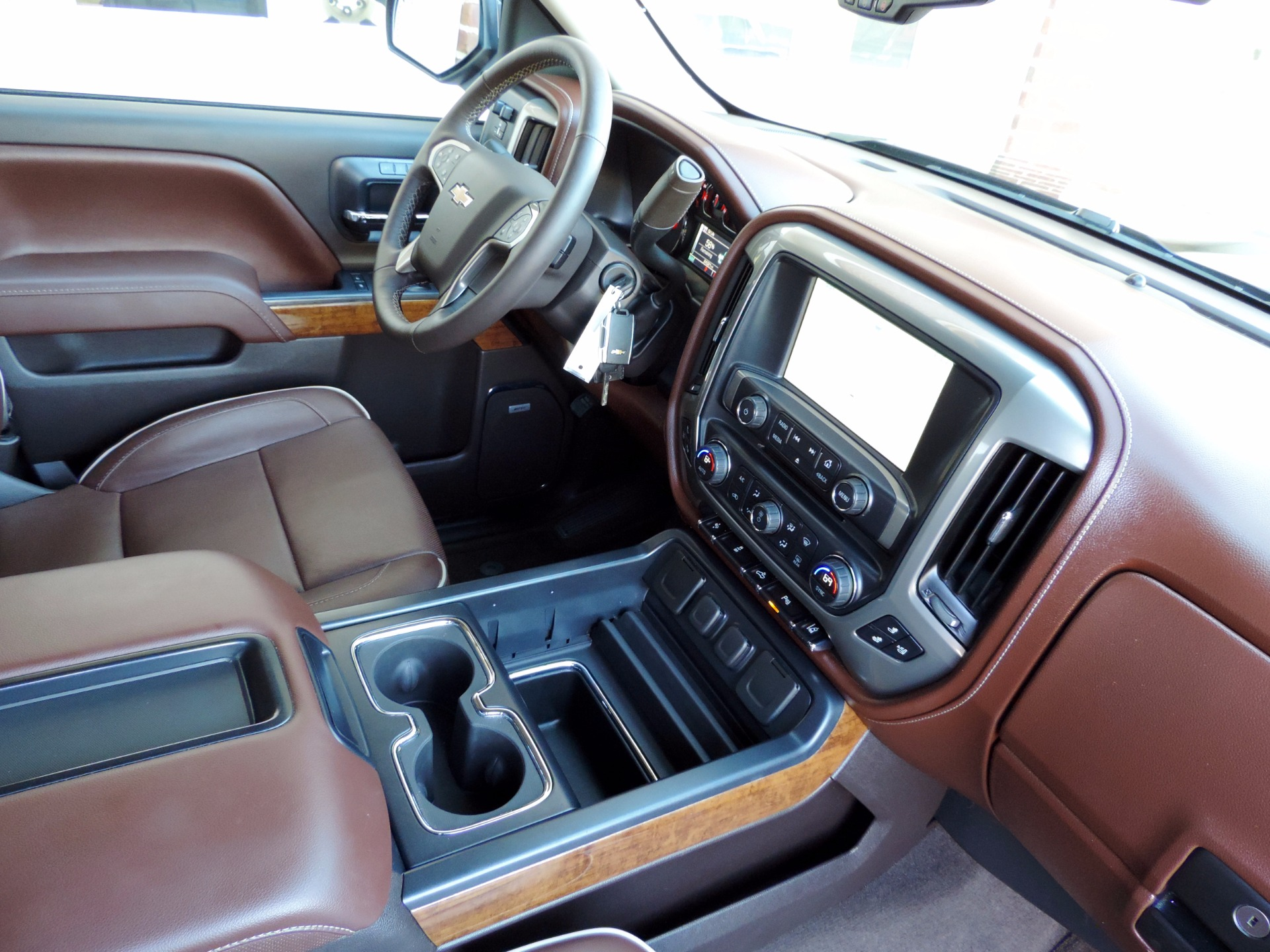 2015 Chevrolet Silverado 1500 High Country Stock 480322 For Sale Chevy Center Console Used