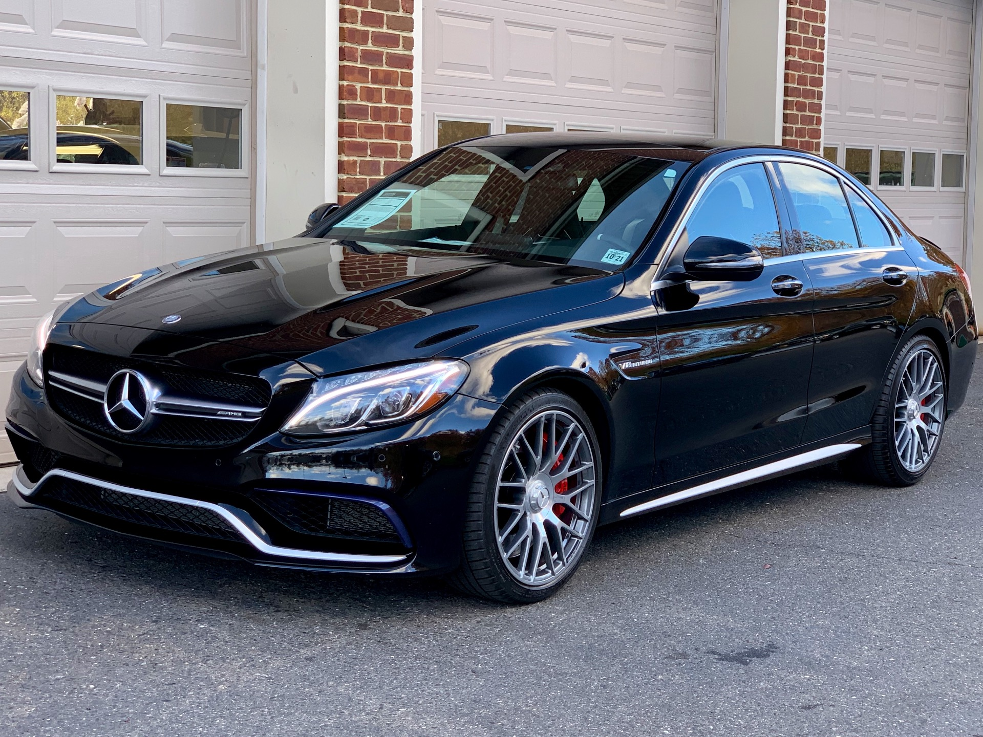 2016 mercedes benz c class amg c 63 s stock 119415 for sale near edgewater park nj nj. Black Bedroom Furniture Sets. Home Design Ideas