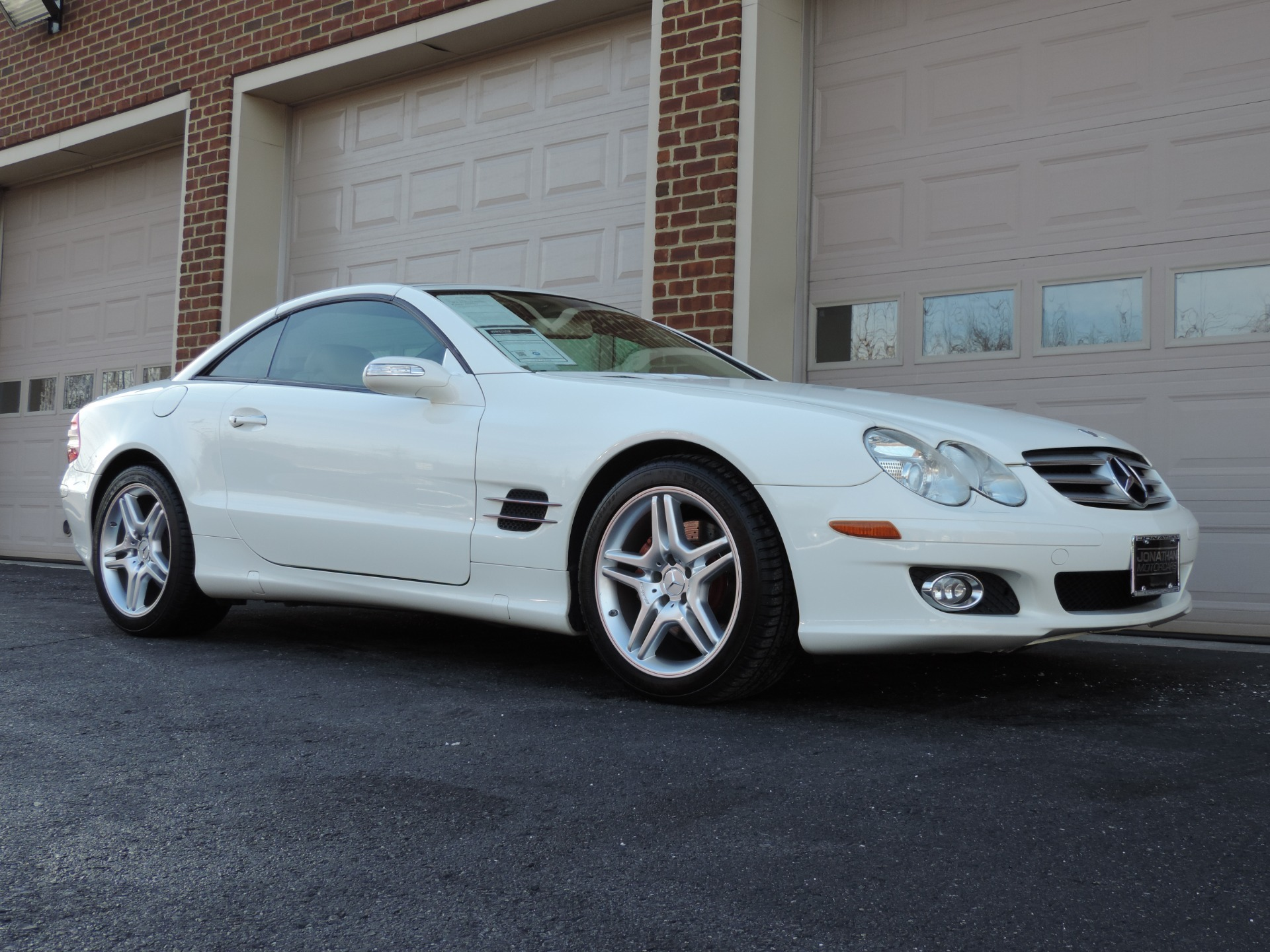 2007 mercedes benz sl class sl 550 stock 126372 for sale for 2007 mercedes benz sl class sl550