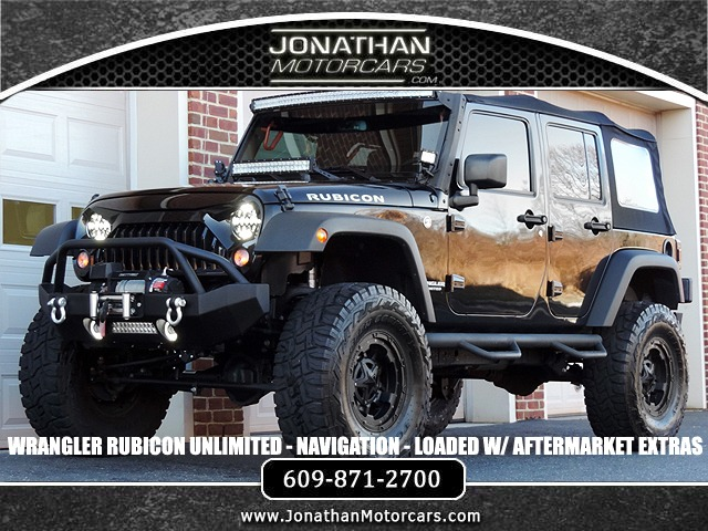 Jeep Wrangler For Sale Nj >> 2016 Jeep Wrangler Unlimited Rubicon Stock # 254892 for sale near Edgewater Park, NJ | NJ Jeep ...