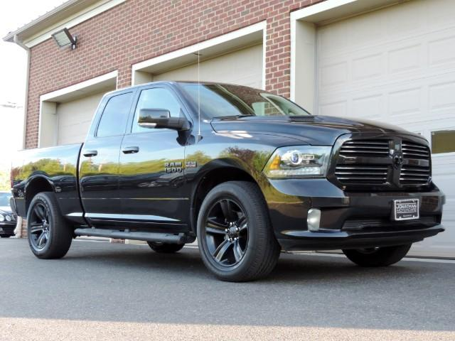 2016 Ram 1500 Sport >> 2016 Ram 1500 Sport Quad Cab 4wd Nav Leather Stock