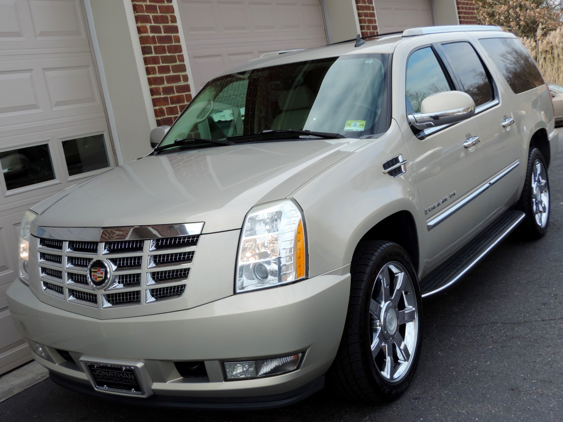 2007 cadillac escalade esv stock 344110 for sale near edgewater park nj nj cadillac dealer. Black Bedroom Furniture Sets. Home Design Ideas
