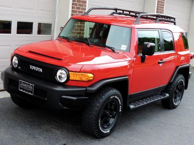 2012 Toyota Fj Cruiser 4wd Trail Teams Edition 3 Gauge