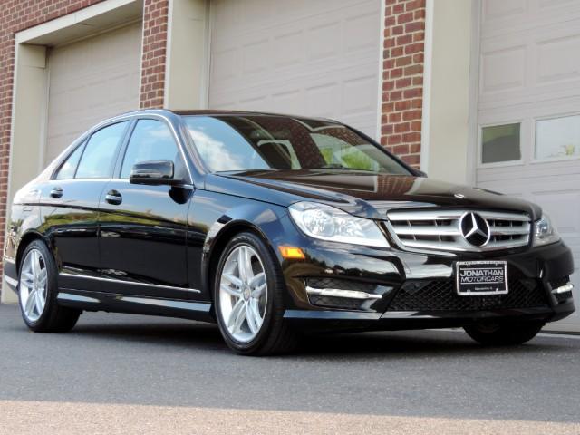 2013 mercedes benz c class c300 4matic sport sedan stock for Mercedes benz c300 for sale nj