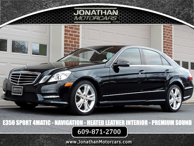 Used 2013 Mercedes-Benz E-Class E 350 Sport 4MATIC | Edgewater Park, NJ