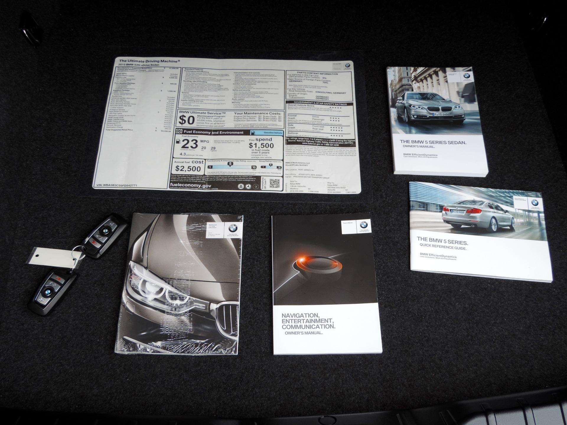 Used-2015-BMW-5-Series-535i-xDrive-Luxury-Line