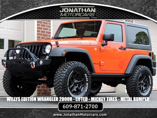 Used 2015 Jeep Wrangler Willys Wheeler Edition   Edgewater Park, NJ