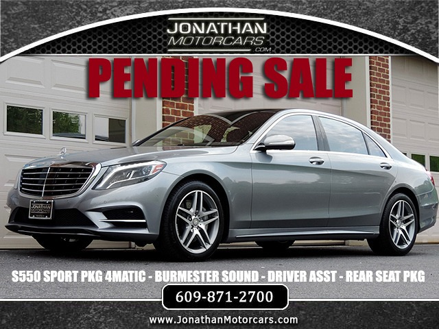 Used 2015 Mercedes-Benz S-Class S 550 4MATIC Sport | Edgewater Park, NJ