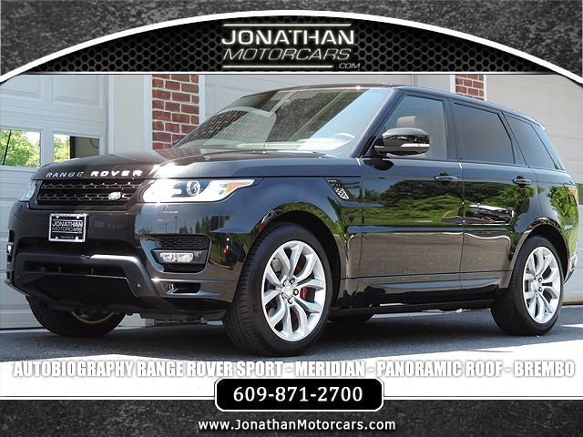 Used 2015 Land Rover Range Rover Sport Autobiography | Edgewater Park, NJ