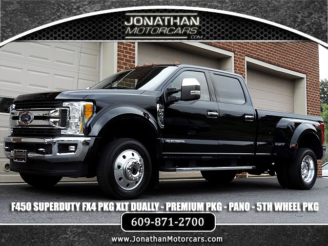Used 2017 Ford F-450 Super Duty Dually- Diesel- XLT FX4 | Edgewater Park, NJ