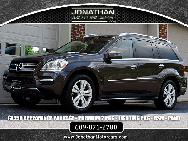Used 2012 Mercedes-Benz GL-Class GL 450 4MATIC Appearance Package | Edgewater Park, NJ