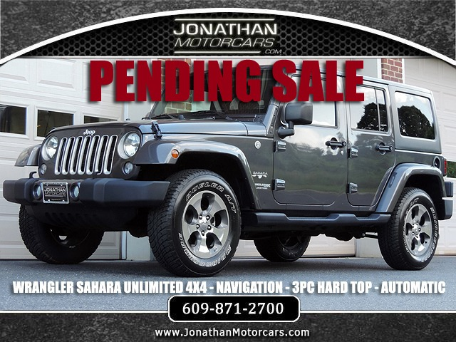 Used 2018 Jeep Wrangler Unlimited Sahara | Edgewater Park, NJ