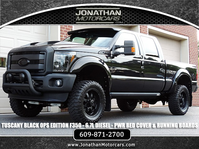 2015 Ford F 350 Super Duty Diesel Lariat Tuscany Black Ops Edition