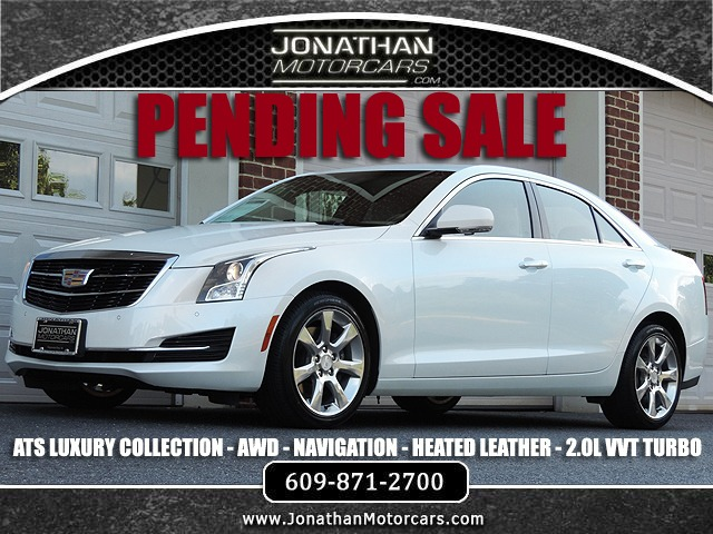 Used 2016 Cadillac ATS AWD 2.0T Luxury Collection | Edgewater Park, NJ