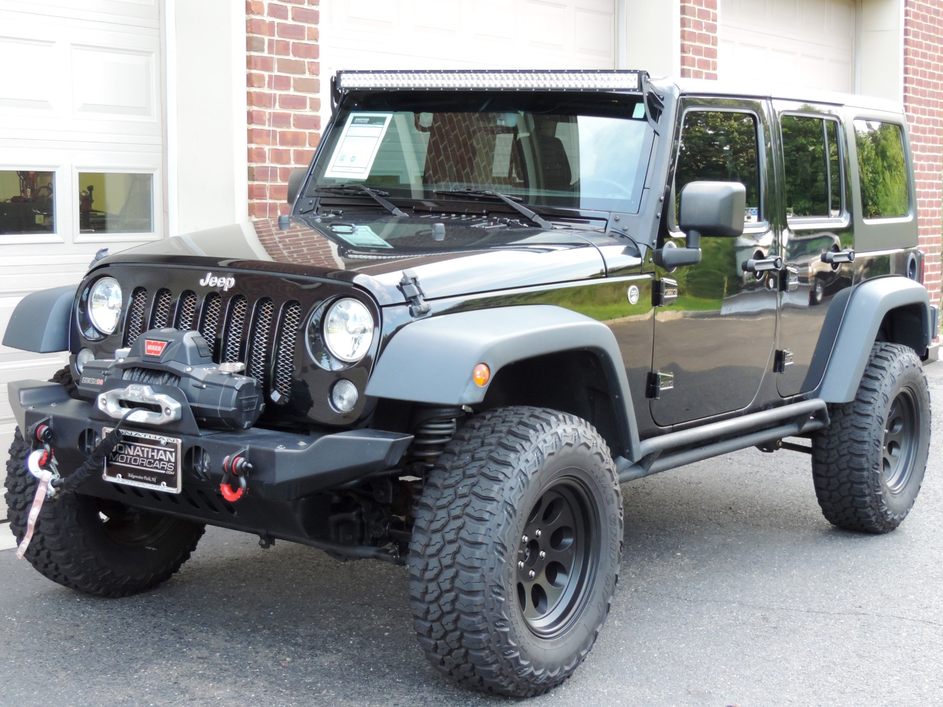 2015 Jeep Wrangler Unlimited Freedom Edition Stock