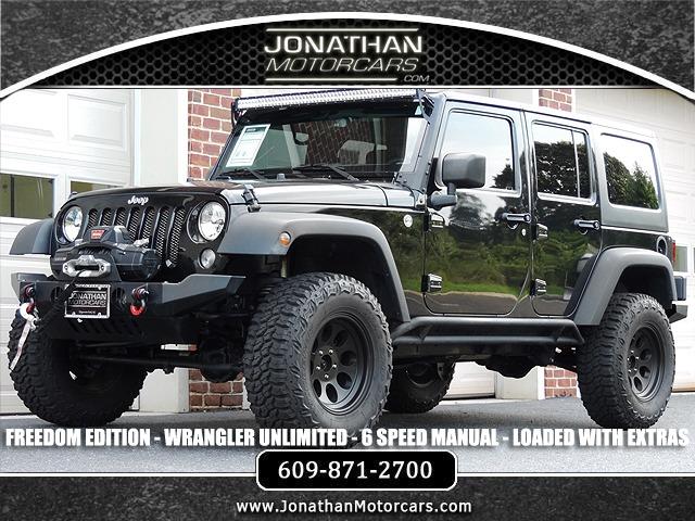 Used 2015 Jeep Wrangler Unlimited Freedom Edition | Edgewater Park, NJ