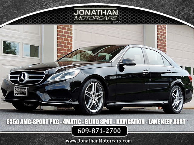 Used 2016 Mercedes-Benz E-Class E 350 4MATIC Sport | Edgewater Park, NJ
