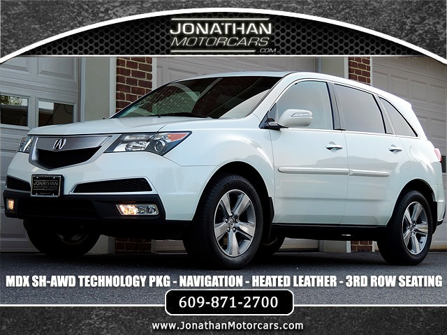 Used 2012 Acura MDX SH-AWD w/Tech | Edgewater Park, NJ