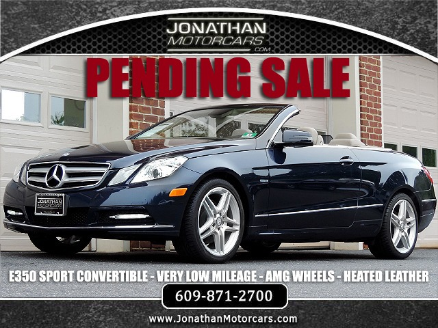 Used 2012 Mercedes-Benz E-Class E 350 Convertible Sport | Edgewater Park, NJ