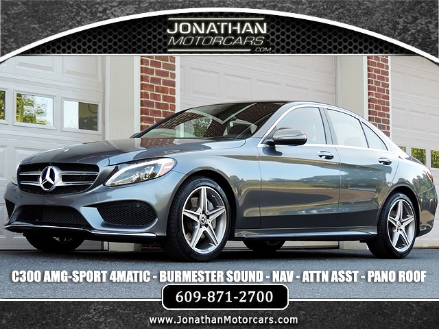 Used 2018 Mercedes-Benz C-Class C 300 4MATIC Sport | Edgewater Park, NJ