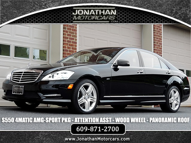 Used 2012 Mercedes-Benz S-Class S 550 Sport 4MATIC | Edgewater Park, NJ