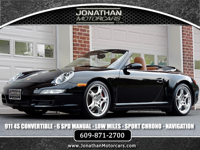 Used 2007 Porsche 911 Carrera 4S Convertible | Edgewater Park, NJ
