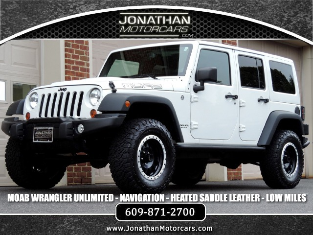 Used 2013 Jeep Wrangler Unlimited Moab- Navigation- Leather | Edgewater Park, NJ