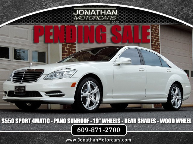 Used 2013 Mercedes-Benz S-Class S550 4MATIC Sport | Edgewater Park, NJ