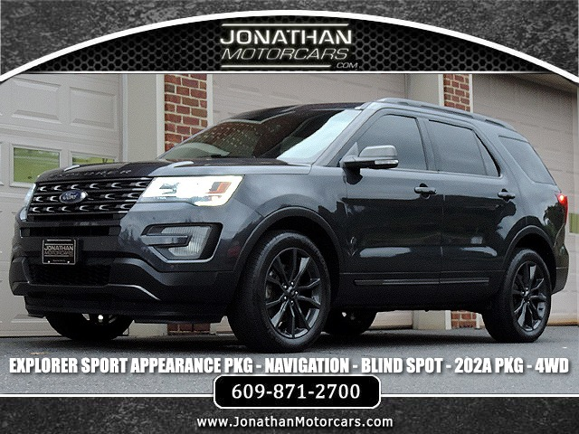 2017 Ford Explorer Xlt Sport Appearance Stock A25459 For Sale Near