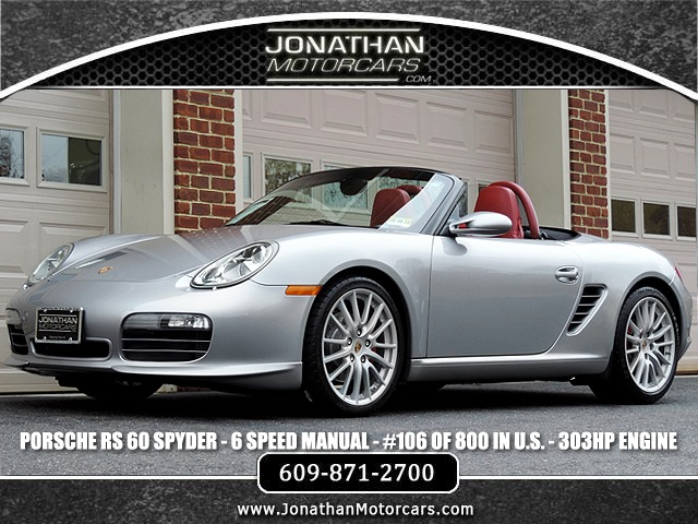 Used 2008 Porsche Boxster RS 60 Spyder | Edgewater Park, NJ