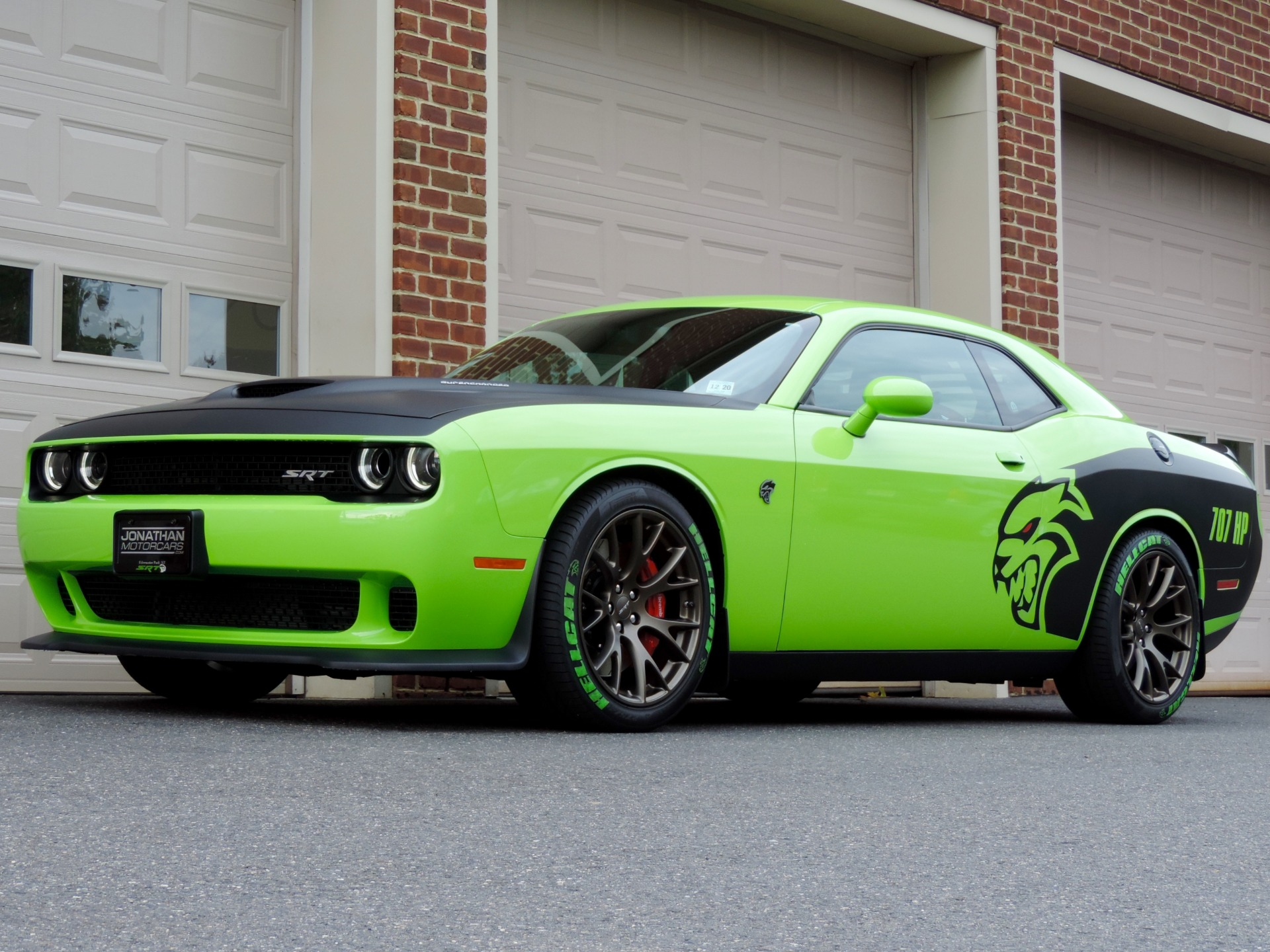 Dodge Charger Hellcat Neon Green