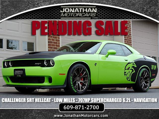 2015 Dodge Challenger Hellcat For Sale >> 2015 Dodge Challenger Srt Hellcat Stock 838694 For Sale