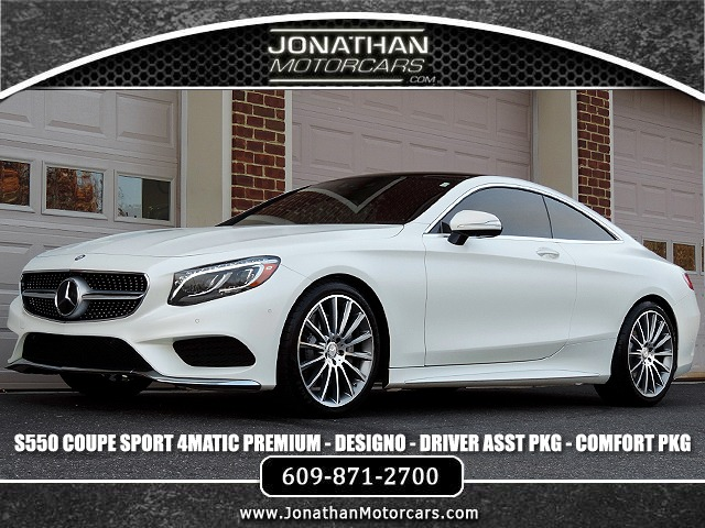 Used 2015 Mercedes-Benz S-Class S 550 4MATIC Coupe Sport | Edgewater Park, NJ