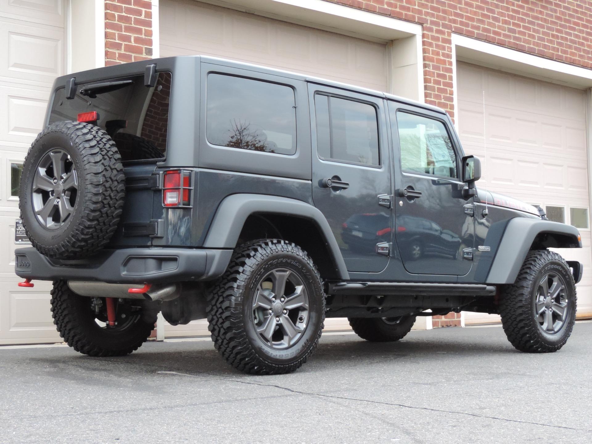 2018 jeep jk rubicon recon for sale