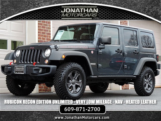 Used 2018 Jeep Wrangler Unlimited Rubicon Recon | Edgewater Park, NJ