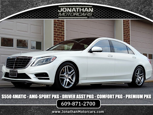 Used 2016 Mercedes-Benz S-Class S 550 4MATIC Sport | Edgewater Park, NJ