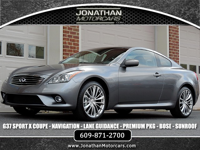 2012 INFINITI G37 Coupe x AWD Sport Pkg Stock # 472930 for