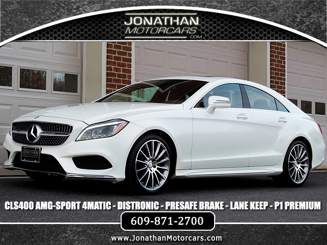 Used 2016 Mercedes-Benz CLS CLS 400 4MATIC Sport | Edgewater Park, NJ