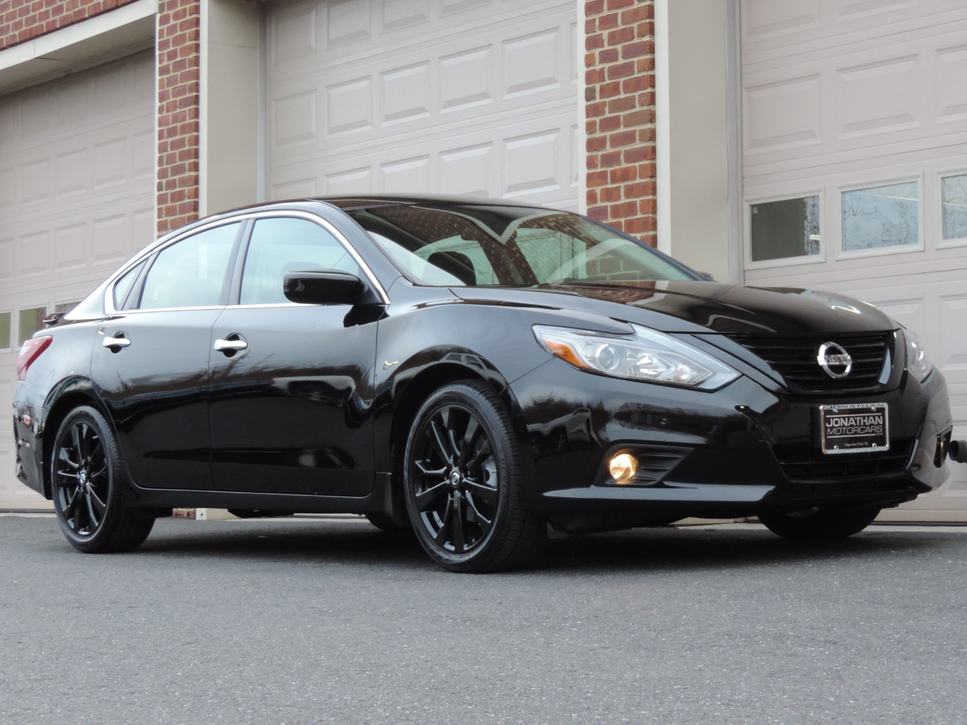 2018 Nissan Altima 2 5 Sr Midnight Edition Stock 470049
