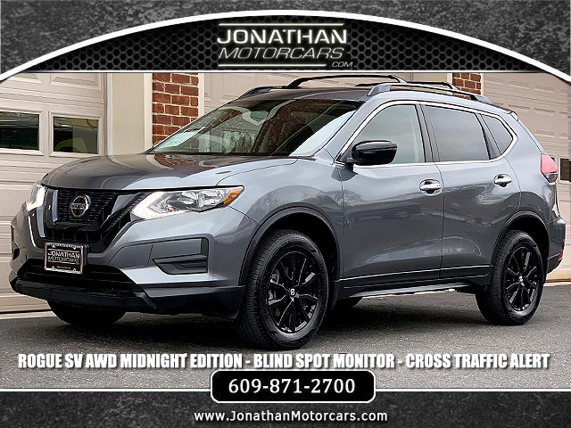 Used 2018 Nissan Rogue SV AWD Midnight Edition | Edgewater Park, NJ