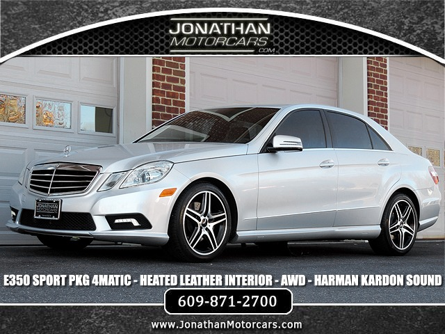 Used 2011 Mercedes-Benz E-Class E 350 Sport 4MATIC | Edgewater Park, NJ