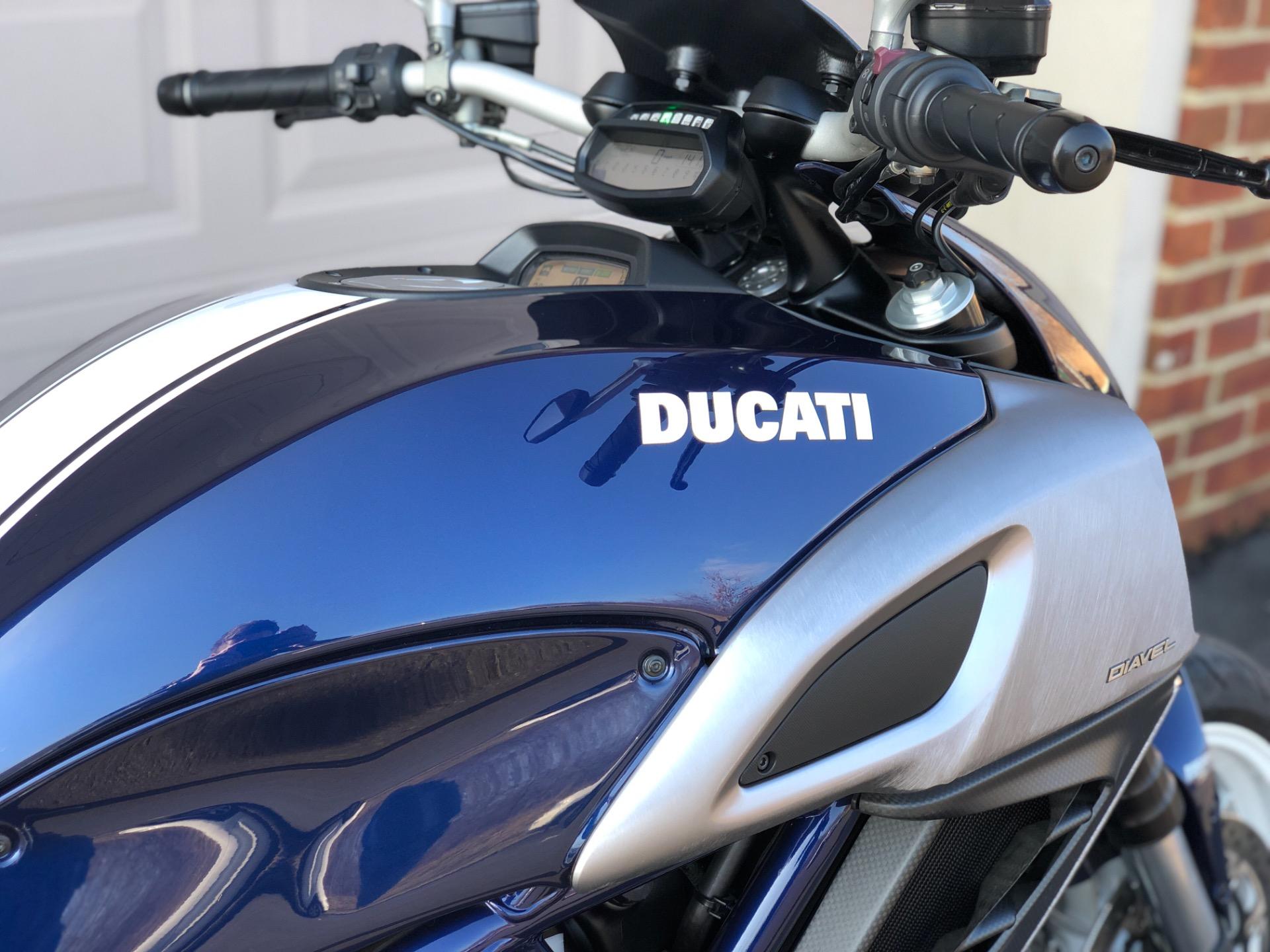 2013 Ducati Diavel Street-Sport Blue Stock # 017793 for sale near